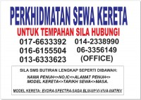 Perkhidmatan Kereta Sewa Melaka.