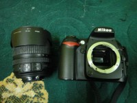 Camera DSLR NIKON D90 with Lense Used